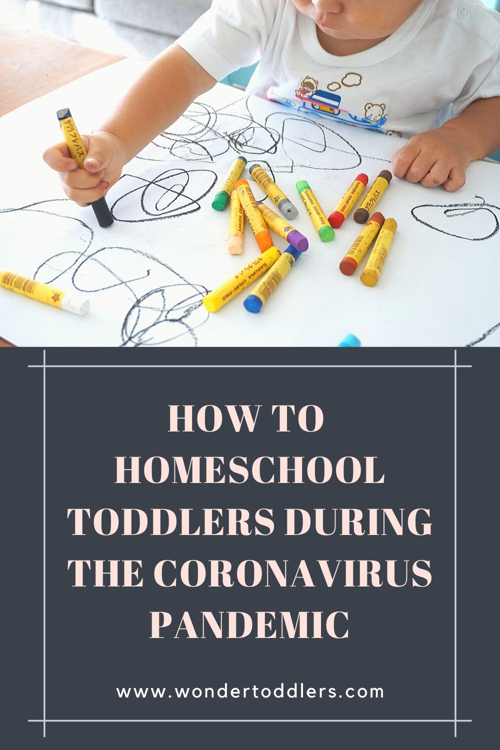 How to homeschool toddlers during the coronavirus pandemic